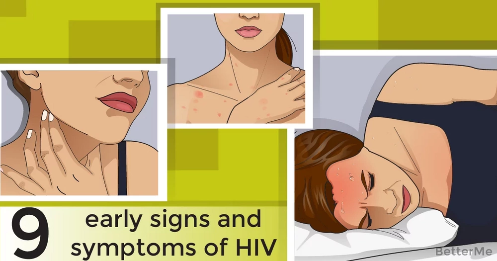 9 early symptoms of HIV in women