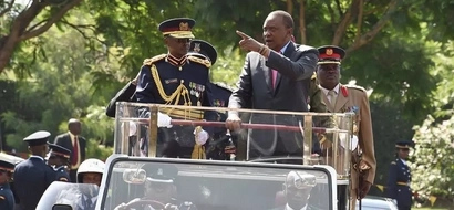 Photos: Uhuru Kenyatta's warning to 4,000 new Kenya police officers