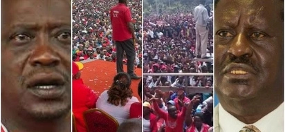 Uhuru's tour to Bomet county is full proof that the battle with NASA will go down to the wire