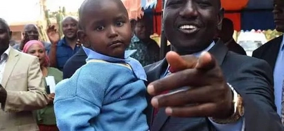 This Is Why Deputy President William Ruto Adopted An Orphan From Ukambani