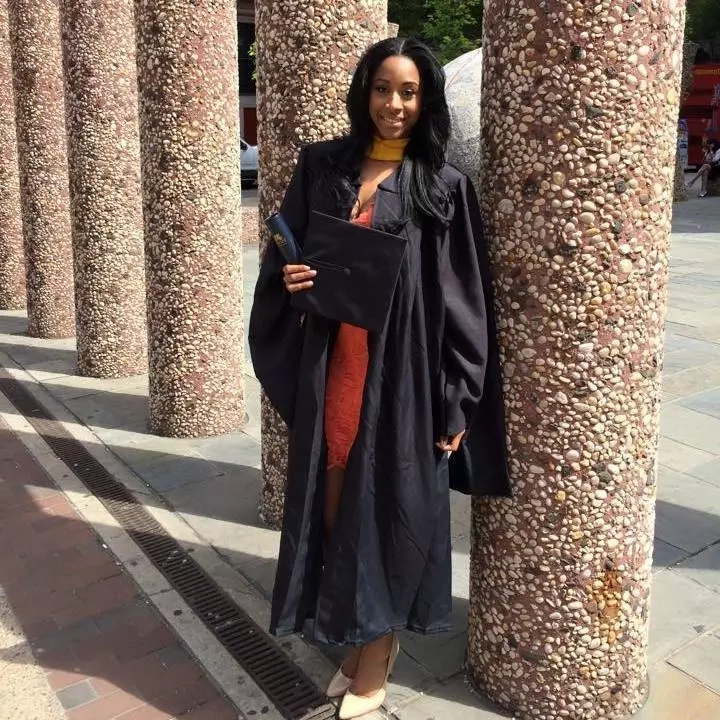 Antonia at her graduation from Spelman College. Photo: Antonia Gore