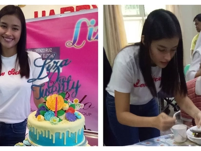 Ang bait naman! Liza Soberano celebrates her birthday early with a charity event
