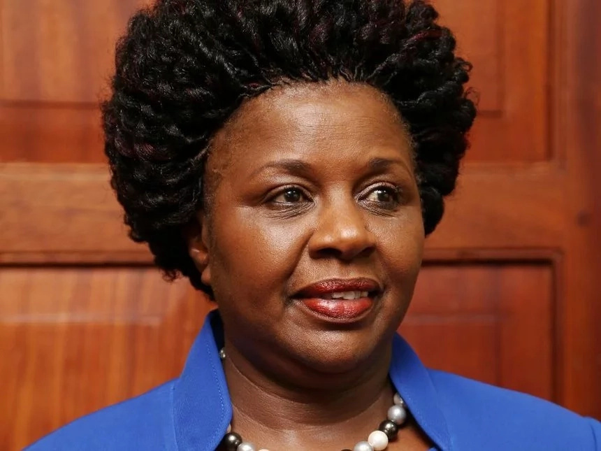 Jubilee's Joyce Laboso embarrasses Ruto on live TV
