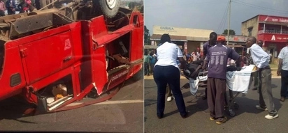 Too many accidents in a day: Another accident in CBD's Kenyatta avenue leaves passengers trapped