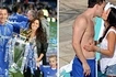 Confusion in Chelsea training as John Terry's wife shows up in CROP TOP (photos)