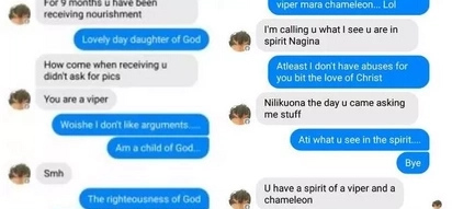 Mchungaji 'feki' atusi mshiriki wake baada ya kunyimwa FUNGU la 10