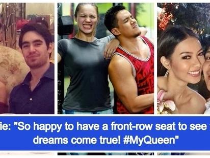 Suportado ang mga jowa! The proud boyfriends of 6 Bb. Pilipinas Queens 2018