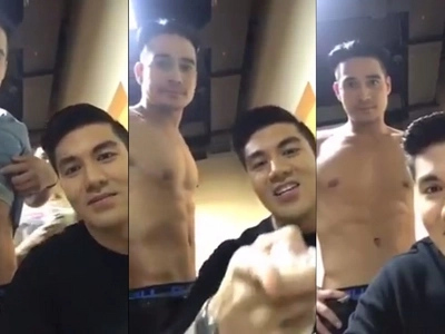 """Sharp-tongued Luis Manzano calls people who believe his gay video with Piolo Pascual """"fools"""""""