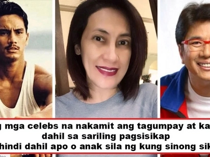 Naghirap, kumayod, sumikat! 5 inspiring Pinoy celebrities who are proud of their rags to riches stories