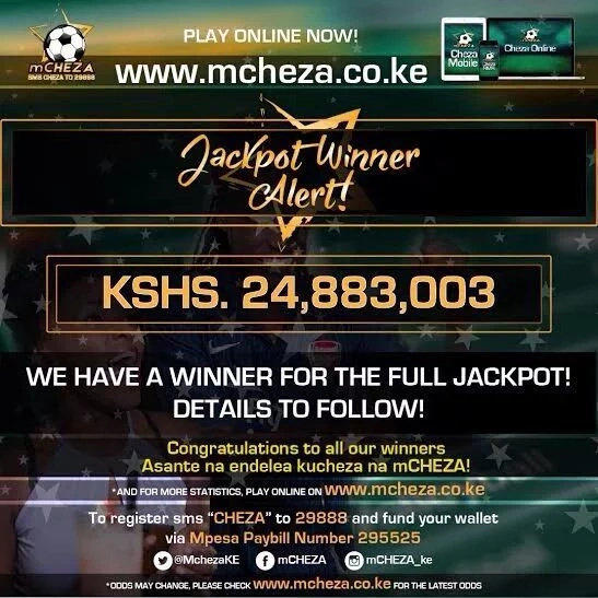Mechanical engineer win KSh 24.8 million mCHEZA Jackpot