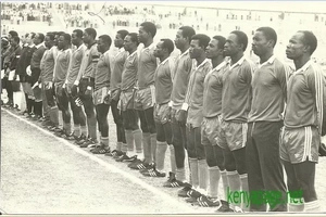 Throwback photo of Harambee Stars has Kenyans excited