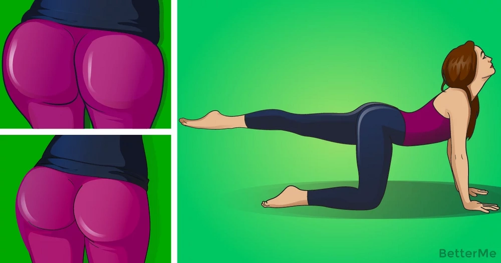 A 5-minute workout to get the dream butt