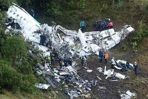 Colombian Plane Crash Surviver Narrates Harrowing Final Moments