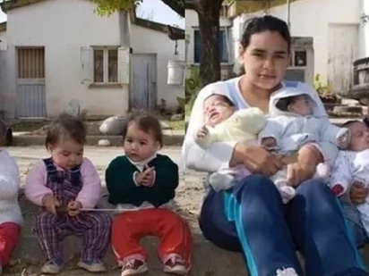 17-year old girl has 7 children with 3 fathers. Here is her story