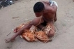 Chicken THIEF punished badly, walks without clothes during Christmas (photos)