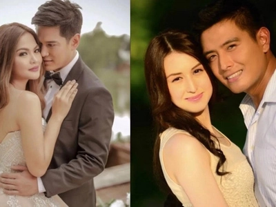 "Handsome Pinoy actors and their super ""artistahin"" wives"