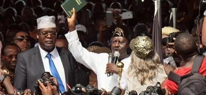 Viongozi wa Jubilee wanataka serikali imchukulie Raila na wenzake hatua kali kwa uapisho