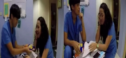 Tag mo na yung tropa mong mahaba ang baba! Hilarious video reveals the best way to open plastic wrapper