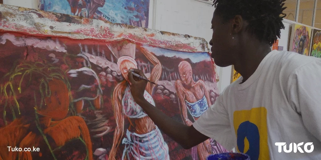 Graffiti artistes dispel negative perceptions about themselves