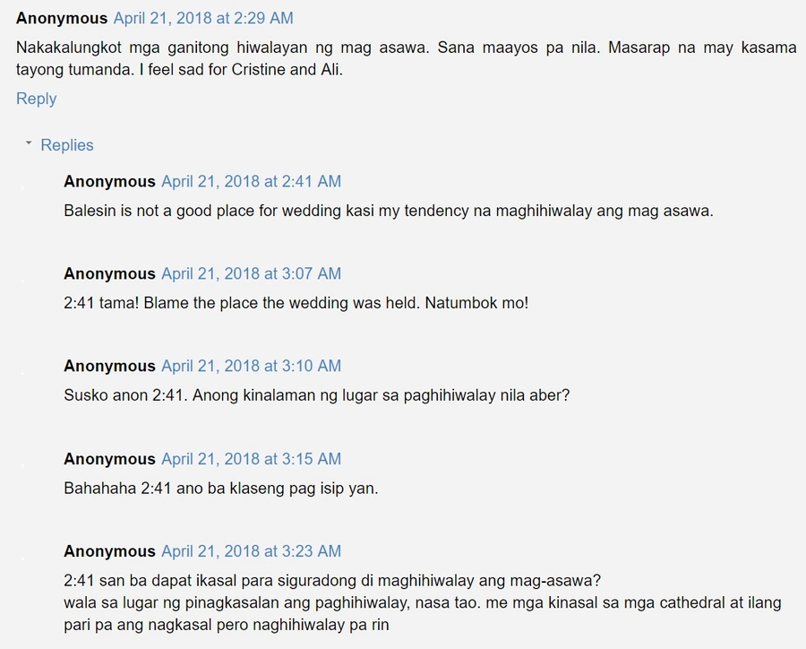 Naghiwalay na raw? Cristine Reyes and Ali Khatibi have allegedly separated