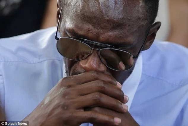 Usain Bolt, fastest man on earth, WEEPS like toddler and it's because this close friend left him (photos)