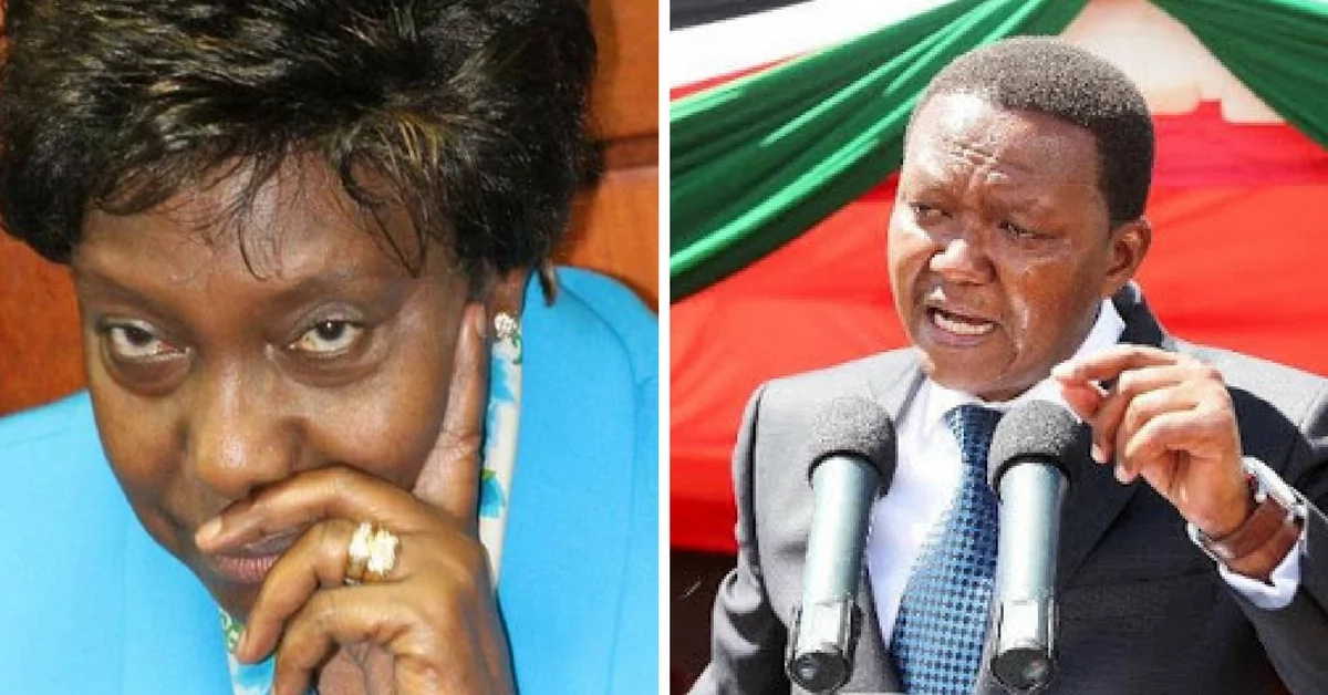 Charity Ngilu orders NASA supporters in Kambaland to boycott elections