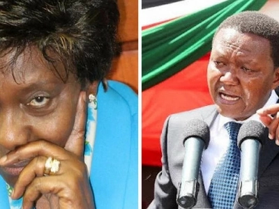 Charity Ngilu goes untamed and badly embarrasses her former friend, Governor Mutua in public