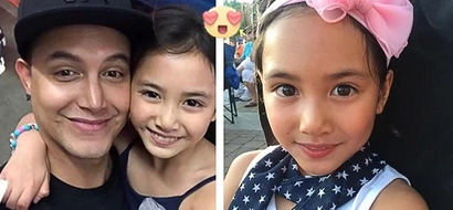 Paolo Ballesteros' daughter Keira Claire definitely got her father's good looks! Beautiful girl a-star-in-the-making, wants to give showbiz a try
