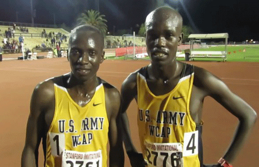 These are the two Kenyan athletes that will run for USA in the Olympics