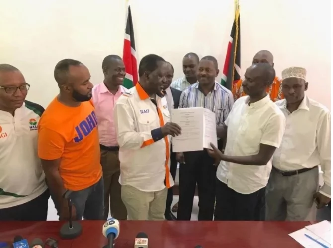 KNUT's Wilson Sossion turns down Raila's offer
