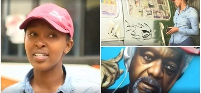Pimp me up! Meet Kenya's only woman matatu designer who hopes to inspire more to join her
