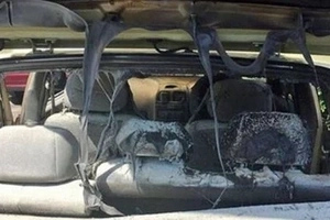 Freak Fire Guts Massage Therapist's Car After Towels SPONTANEOUSLY COMBUST