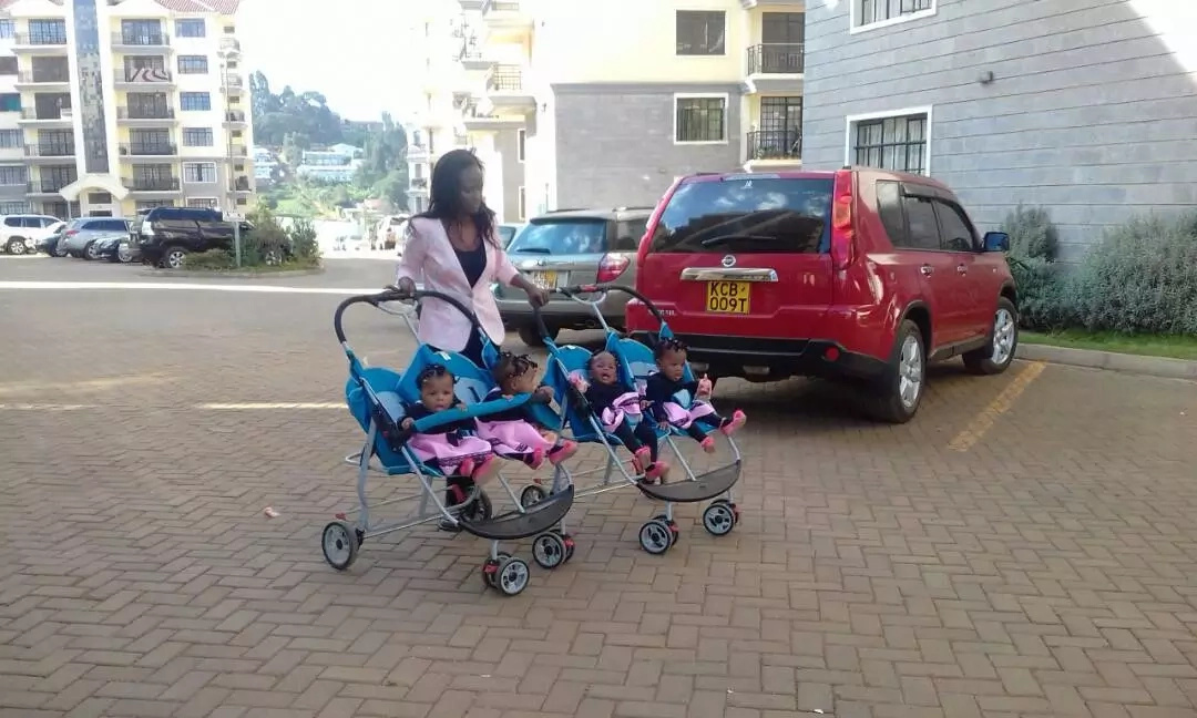 Remember the popular quadruplets? They turned a year and their birthday party will make you want to be a child again (photos)