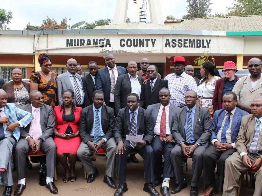 Muranga MCAs engage in fist fight