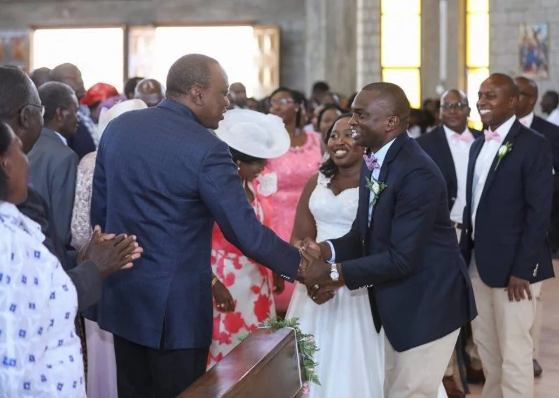 Uhuru at Boinnet daughter wedding