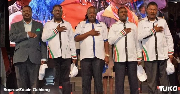Ruto- I was named NASA's flag bearer but REFUSED