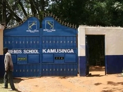 Kamusinga Principal shows up in full school uniform and netizens can't keep calm