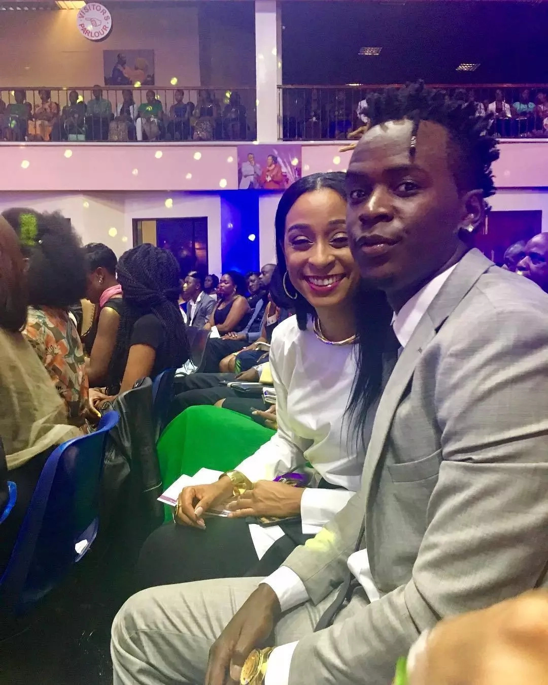 From the horse's mouth, Alaine clears the air on her relationship with Willy Paul