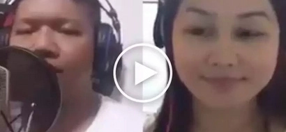 Ang galing nila pareho! Police officers jam to sing an OPM  classic hit in an epic duet