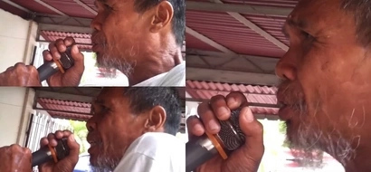This homeless Pinoy with a golden voice entertained everyone in viral video!