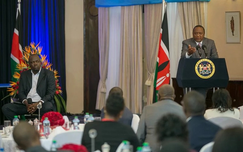 Why people are talking about these Uhuru Photos