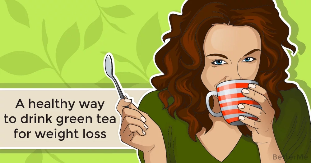 A healthy way to drink green tea for weight loss