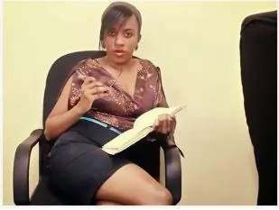 Former KBC presenter Elizabeth Irungu wants Russian president in her bed