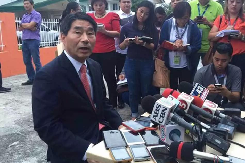 Korean ambassador vows better ties with PH under Duterte administration