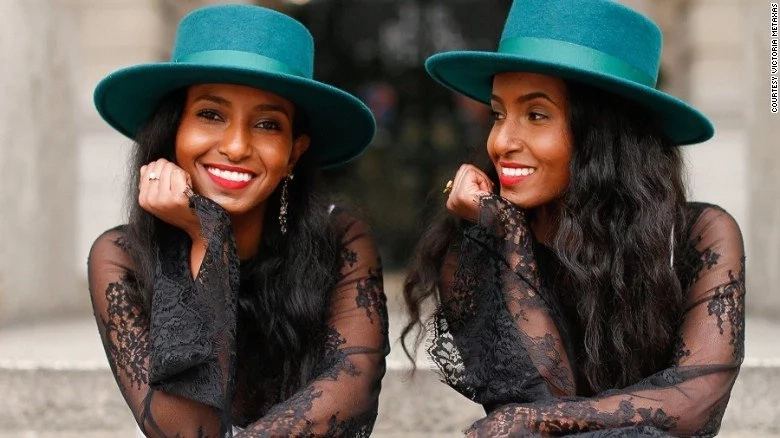 African twin sisters use style to break down barriers for deaf people