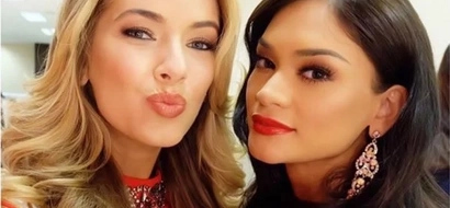 Pia thanks Miss USA for visiting PH