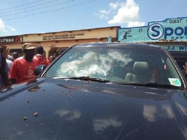 Raila attacked in Western