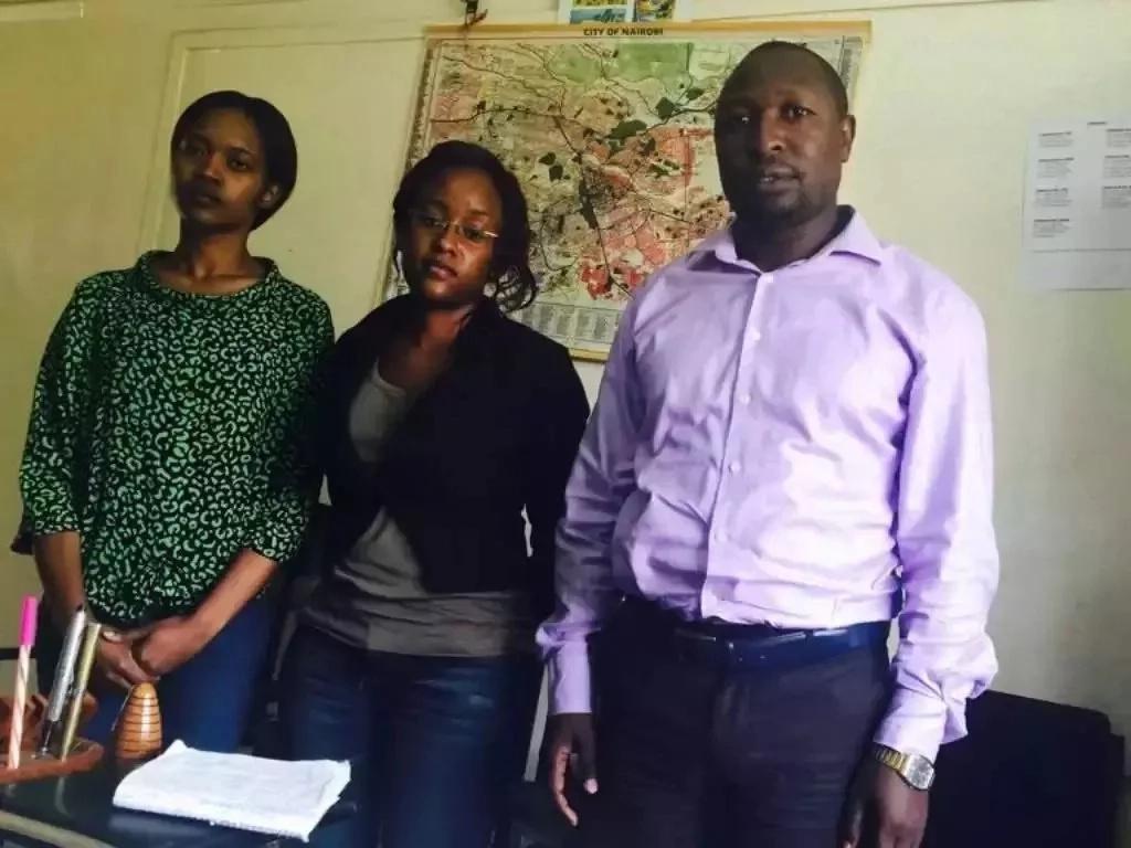 Flying Squad yamkamata mlinzi 'MKORA' wa Rais Kenyatta akijaribu kuondoka nchini (picha)