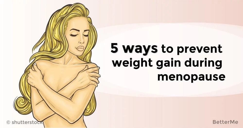 5 ways to prevent weight gain during menopause