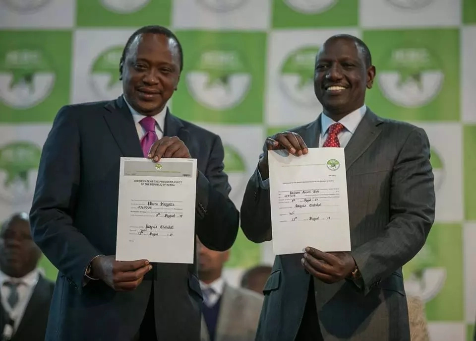 Two Choices For Uhuru Kenyatta Post-Election